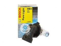 Галогеновая лампа Bosch HB4 Pure Light