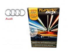 Чип тюнинг двигателя TuningBox для Audi