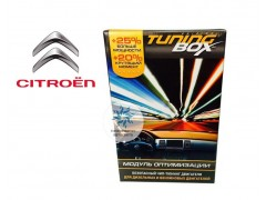 Чип тюнинг двигателя TuningBox для Citroen