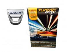 Чип тюнинг двигателя TuningBox для Dacia