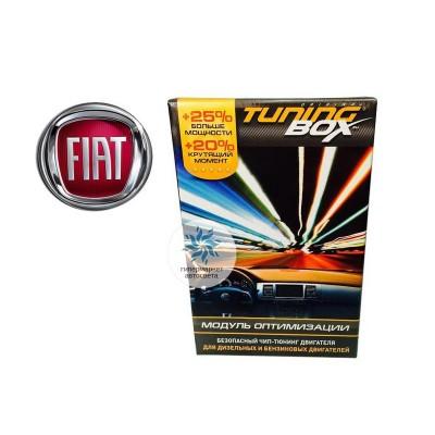 Чип тюнинг двигателя TuningBox для Fiat