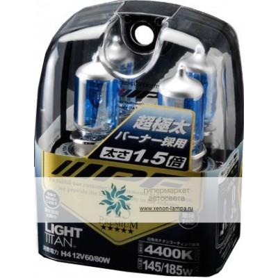 Газонаполненные лампы IPF H4 5X42 80W Light Titan 4400K