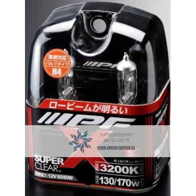 Газонаполненные лампы IPF H3 X31 65W Super Clear 3200K