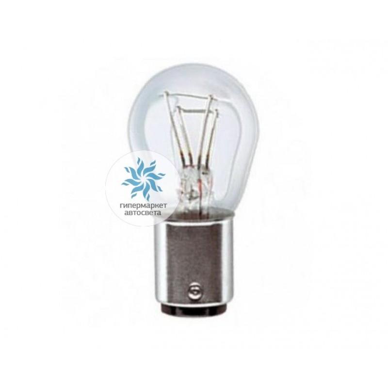Лампа OSRAM P21 5W 12V BAY15d LED Red 1457R-02B (2 штуки)
