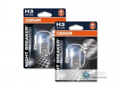 Галогеновая лампа Osram H3 64151NBU Night Breaker Unlimited 3400K