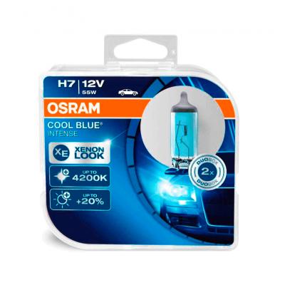 Набор галогеновых ламп Osram H7 64210CBI Cool Blue Intense 4200K