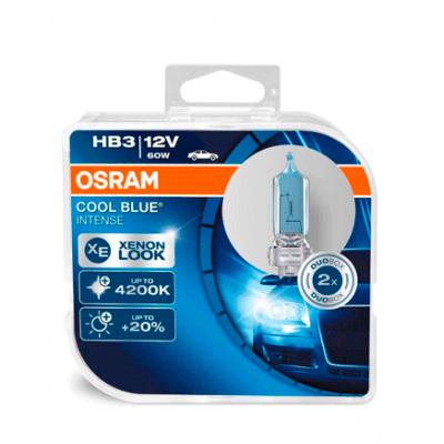 Набор галогеновых ламп Osram HB3 9005CBI Cool Blue Intense 4200K