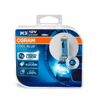 Набор галогеновых ламп Osram Н3 64151CBI Cool Blue Intense 4200 K