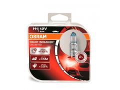 Набор галогеновых ламп Osram H1 64150NBU Night Breaker Unlimited 3400K