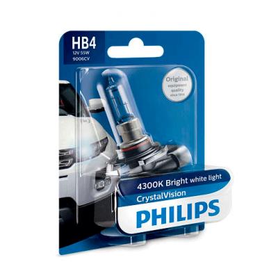 Галогеновая лампа Philips HB4 9006CVB1 Crystal Vision