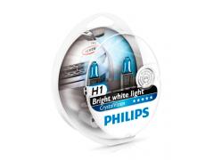 Набор галогеновых ламп Philips H1 12258CVSM Crystal Vision
