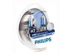Набор галогеновых ламп Philips H7 12972CVS2 Crystal Vision