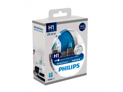 Набор галогеновых ламп Philips H1 12258WHVB1 WhiteVision