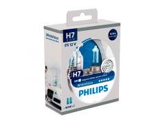 Набор галогеновых ламп Philips H7 12972WHVB1 WhiteVision