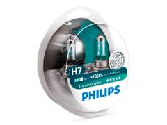 Набор галогеновых ламп Philips H7 12972XVS2 X-TremeVision +130%