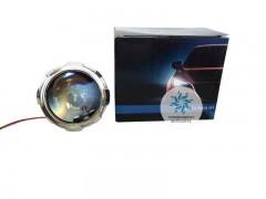 Биксеноновые линзы Morimoto Mini H1 с масками X1
