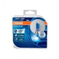Набор галогеновых ламп OSRAM H7 62210CBB-HCB Cool Blue Boost