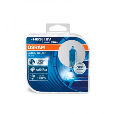 Набор галогеновых ламп OSRAM HB3 69005CBB-HCB Cool Blue Boost