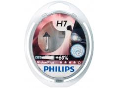 Набор галогеновых ламп Philips H7 12972VPB1 VisionPlus +60%