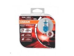 Набор галогеновых ламп OSRAM H4 64193NL-HCB Night Breaker Laser