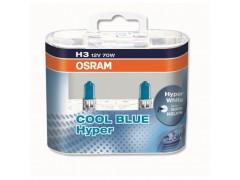 Набор галогеновых ламп Osram H3 62151CBH Cool Blue Hyper 5000K