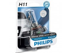 Галогеновая лампа Philips H11 White Vision 12362WHVB1