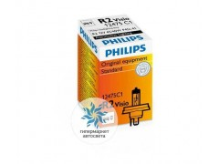 Галогеновая лампа Philips HR2 12V 45/40W (P45t) Visio 12475C1