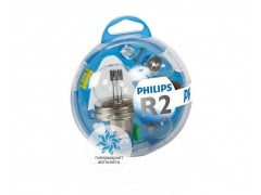 Набор галогеновых ламп Philips HR2 12V 45/40W (P45t) Essential Box 55721EBKM