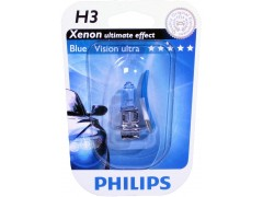 Галогеновая лампа Philips H3 12336BVUB1 Blue Vision Ultra