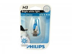 Галогеновая лампа Philips H3 12336CVB1 Crystal Vision