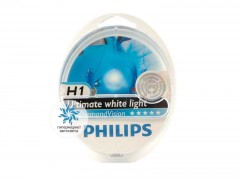 Набор галогеновых ламп Philips H1 12258DVS2 Diamond Vision