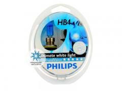 Набор галогеновых ламп Philips HB4 9006DVS2 Diamond Vision