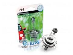 Галогеновая лампа Philips H4 12342ECOC1 LongLife EcoVision