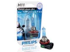 Галогеновая лампа Philips H11 12362BVUB1 Blue Vision Ultra