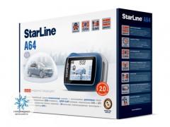 Автосигнализация StarLine A64 2CAN 2SLAVE + S-20.3
