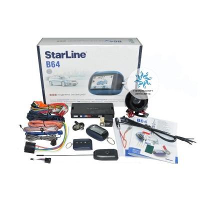 Автосигнализация StarLine B64 2CAN 2SLAVE