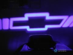 Проектор на бампер с логотипом Chevrolet