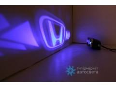 Проектор на бампер с логотипом Honda