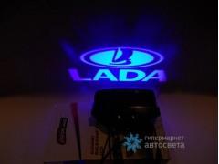 Проектор на бампер с логотипом Lada