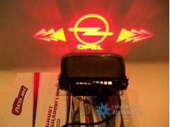 Проектор на бампер с логотипом Opel