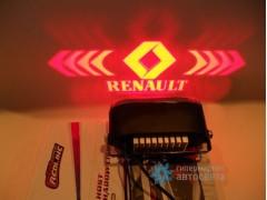 Проектор на бампер с логотипом Renault
