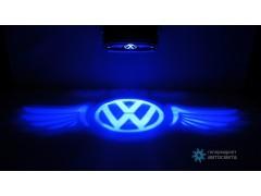 Проектор на бампер с логотипом Volkswagen