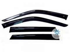 Дефлекторы окон COBRA AUDI A1 (8X) 2012 - по наст. время Hb 5d
