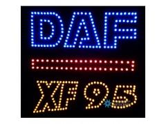 Светящийся логотип для грузовика DAF XF