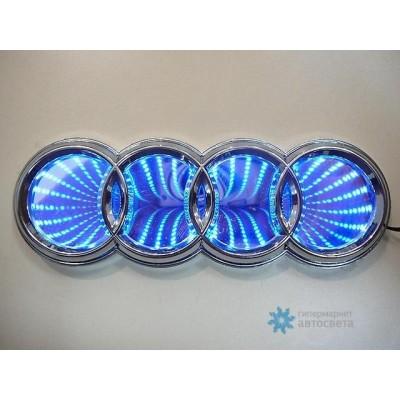 Шильдик с LED-подсветкой для Ауди (Audi)