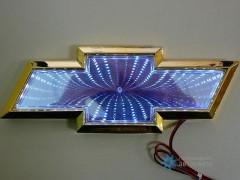 Шильдик с LED-подсветкой для Шевроле (Chevrolet)