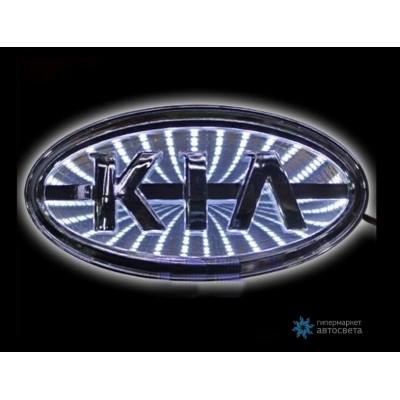 Шильдик с LED-подсветкой для Киа (Kia)