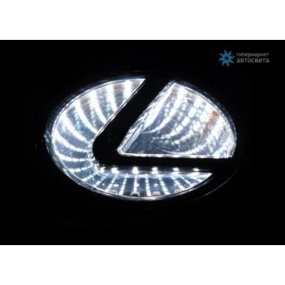 Шильдик с LED-подсветкой для Лексус (Lexus)