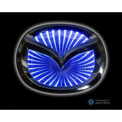 Шильдик с LED-подсветкой для Мазда (Mazda)