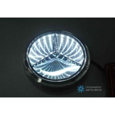Шильдик с LED-подсветкой для Мерседес (Mercedes)